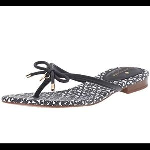 Kate Spade Mistic Black and White Sandal